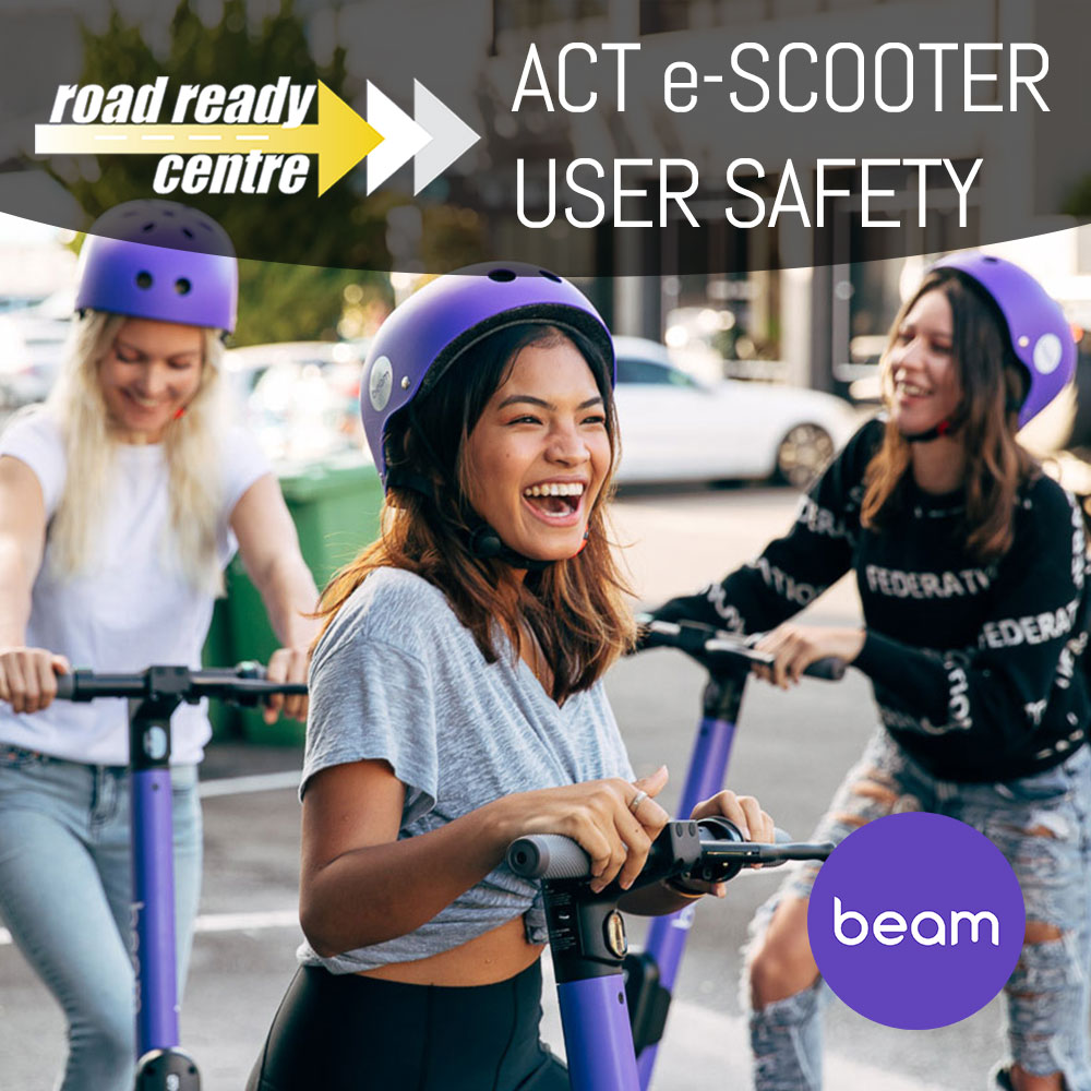 Canberra e-Scooter Safety Training